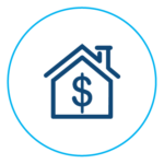 Increase property value icon