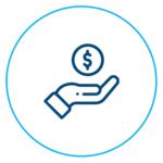 Increase rental income icon